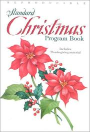 Standard Christmas Program Book by Pat Fittro