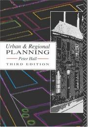 Urban and regional planning by Peter Geoffrey Hall