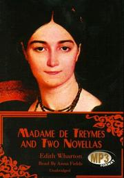 Cover of: Madame De Treymes and Two Novellas by Edith Wharton