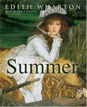 Cover of: Summer by Edith Wharton, Grace Colin