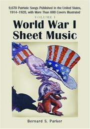 World War I Sheet Music PDF