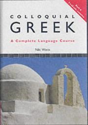 Colloquial Greek PDF