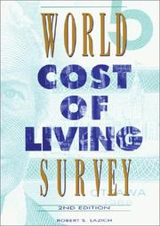 World Cost of Living Survey PDF
