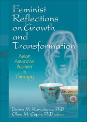 Cover of: Feminist reflections on growth and transformation by Debra M Kawahara