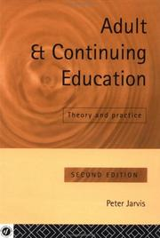 Adult and continuing education by Jarvis, Peter