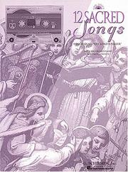 Twelve Sacred Songs Low Cassette Pkg 12 See 50482644 PDF