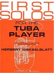 First Solos for the Tuba Player PDF