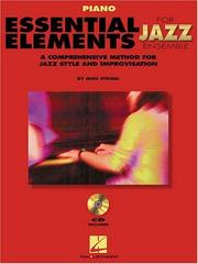 Essential Elements for Jazz Ensemble a Comprehensive Method for Jazz Style and Improvisation PDF