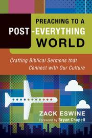 Preaching to a Post-Everything World PDF