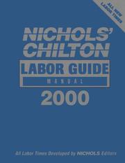 Nichols' Chilton Labor Guide Manual 2000 PDF