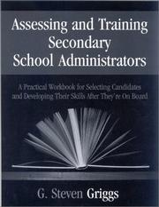 Assessing and Training Secondary School Administrators PDF