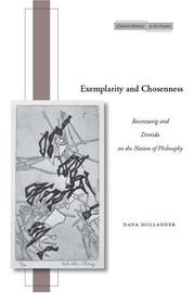 Exemplarity and Chosenness by Dana Hollander