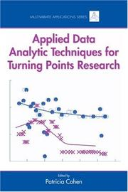 Applied Data Analytic Technique for Turning Points Research (Multivariate Applications) PDF