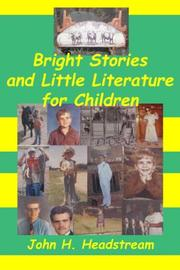 Bright Stories and Little Literature for Children PDF