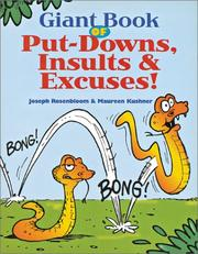 Giant Book of Put-Downs, Insults & Excuses! PDF
