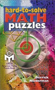 Hard-to-Solve Math Puzzles PDF