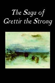 The Saga of Grettir the Strong PDF