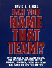 Can You Name that Team? PDF