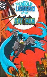 The Untold Legend of the Batman PDF