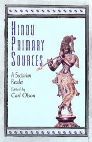 Hindu Primary Sources PDF