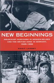 New Beginnings by Hagit Lavsky