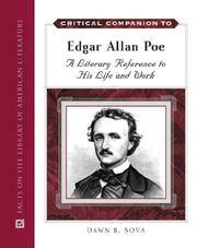 Cover of: Critical Companion to Edgar Allan Poe by Dawn B. Sova