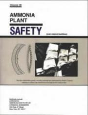 Ammonia Plant Safety (Ammonia Plant Safety (and Related Facilities)) PDF