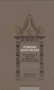 Powers matchless by William Chandler Kirwin