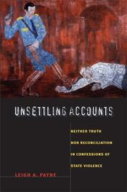 Unsettling accounts by Leigh A. Payne