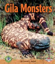 Gila monsters by Conrad J. Storad