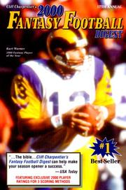 Cliff Charpentiers 2000 Fantasy Football Digest