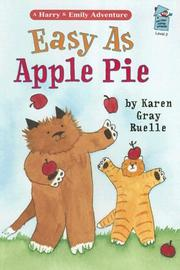 Easy As Apple Pie (A Holiday House Reader, Level 2) PDF