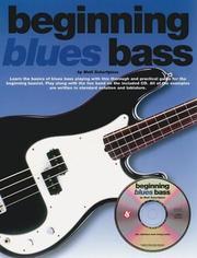 BEGINNING BLUES BASS (Bass Guitar) PDF