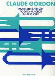 Systematic Approach to Daily Practice in Bass Clef PDF