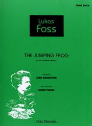 The Jumping Frog of Calaveras County - Vocal Score PDF
