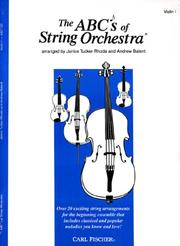 The ABCs of String Orchestra, Level 1 PDF