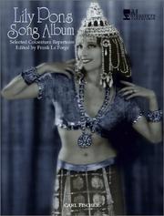 Lily Pons Song Album PDF