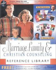 Marriage, Family and Christian Counseling