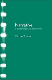 Cover of: Narrative by Michael J. Toolan