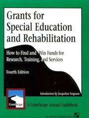 Grants for Special Education and Rehabilitation PDF