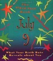 The Birth Date Book July 9 PDF