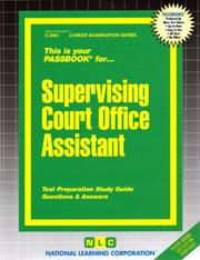 Supervising Court Office Assistant PDF