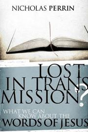 Lost In Transmission? PDF