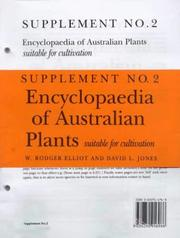 Encyclopaedia of Australian Plants by David Jones