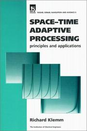 Space-Time Adaptive Processing by Richard Klemm