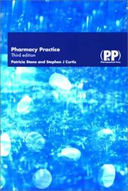 Pharmacy Practice by Patricia Stone