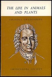 Life in Animals and Plants by Emanuel Swedenborg