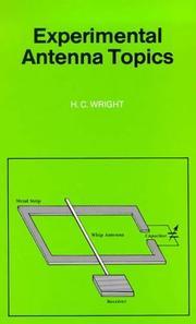 Experimental Antenna Topics PDF