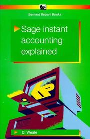 Sage Instant Accounting Explained PDF
