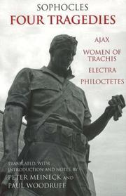Cover of: Four Tragedies by Sophocles